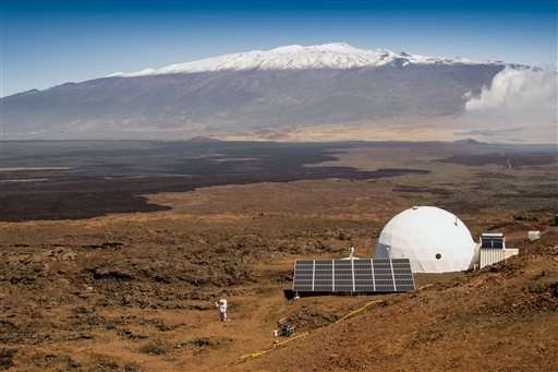 The dome in Hawaii. Image Credit: Neil Scheibelhut/University of Hawaii at Manoa via AP